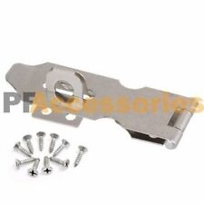 "3"" inch Zinc Plated Safety Hasp and Staple for Gate Door Cabinets Lock Padlock"