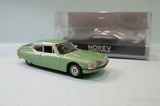 Norev - CITROEN SM 1972 vert métallisé Neuf NBO HO 1/87
