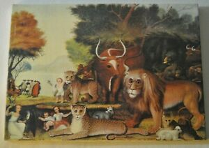 The Peaceful Kingdom of the Branch Edward Hicks 1780-1849 Print on Canvas