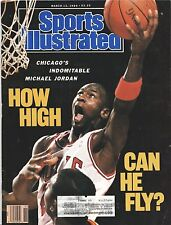 SPORTS ILLUSTRATED March 13, 1989 How High Can He Fly?