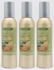 3 Yankee Candle SAGE AND CITRUS Concentrated Mini Room Spray Perfume 1.5 oz