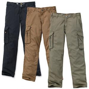 Carhartt Herren Hose Force Tappen Cargohose Cargo Pants Größe W30 bis W40 NEU