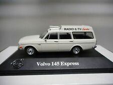 VOLVO 145 EXPRESS RADIO & TV SERVICE VOLVO COLLECTION ATLAS IXO 1:43