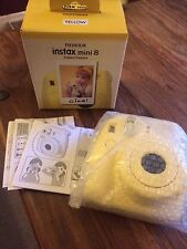 Fujifilm Instax Mini 8 Yellow Instant Film Camera