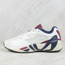 Mens Fila Mindblower White/Navy/Red Trainers (PEF3) RRP £89.99