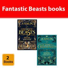 Fantastic Beasts Collection J.k. Rowling 2 Books Set Pack Crimes of Grindelwald
