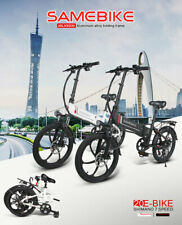 "Samebike XW-20LY Smart Folding Electric Bicycle E-Bike 10AH 48V 350W 20"" 70km/h"