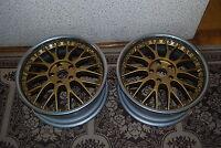 Genuine Enkei A356 alloy wheels 18x8 ET36 2pc refurbed, not Volk, BBS, Work, SSR