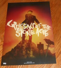 Queens of the Stone Age Like Clockwork Poster 2-Sided Promo Original 11x17
