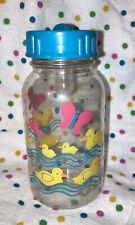 Vintage Evenflo Ducky Plastic Baby Bottle-Nurser-4 Oz.