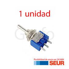 Mini-Interruptor de Palanca 3 PIN Azul SPDT ON-OFF-ON 6A / 125 V 3A / 250 V
