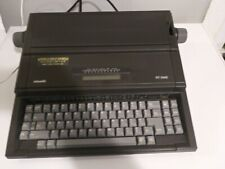 Olivetti RT-5400 typewriter,portable,Processor,original covers.OFFERS ENCOURAGED