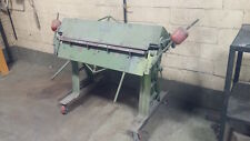 """Brown and Boggs Apron Brake 48"""" x 16ga Great condition!"""