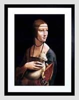 LEONARDO DA VINCI LADY ERMINE CECILIA GALLERANI ART PRINT B12X1062