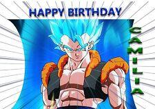 Dragon Ball Z - Personalised Birthday Greeting Card A5 Friend / son