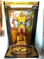 WWE WWF Defining Moments Hulk Hogan Figure Mattel 2014