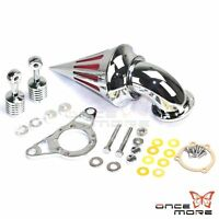 Cone Spike Air Cleaner Kit Intake Filter For Harley Softail Dyna Touring Rocker