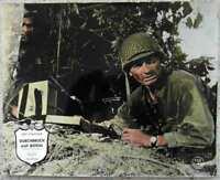 Original Aushangfoto Durchbruch auf Befehl - Jeff Chandler - coloriert / Warner