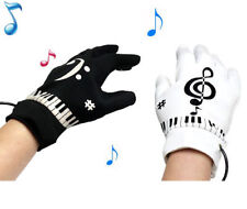 Funny Piano Gloves Musical Fingertips Gadget Office Game Set Gimmick Party Favor