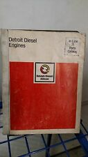 Detroit Diesel Engine In Line 71 Parts Catalog Manual
