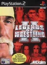 ps2 legends of wrestling 2 -  Great condition NO Book