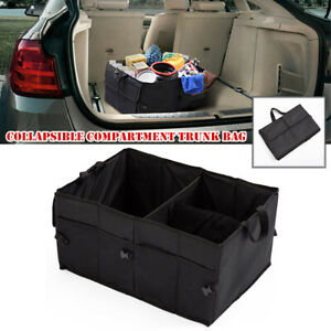 Collapsible Car SUV Compartment Trunk Bag Rear Seat Organizer Storage Holder Bag