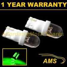 2x W5w T10 501 Xenon Verde Domo Interior Led Luz De Cortesía Bulbos Hid il100101