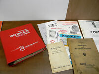 Vintage Locksmith Books and Catalog Lot