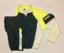 Vintage Nike Air Jacket Windbreaker Nylon Set Suit 80s 90s Jordan Rap Hip Hop