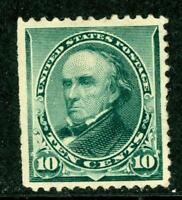 USA 1890 Webster 10¢ Scott # 226 Very Fine Mint Hinged  K510