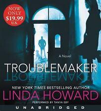 Troublemaker by Linda Howard (2017, CD, Unabridged)