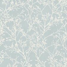TRANQUILITY TREE WALLPAPER - DUCK EGG / SILVER - FINE DECOR FD41713