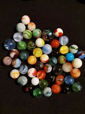 Mixed Lot 50 Assorted Vintage To Modern Marbles Vitro Alley Vacor Peltier m3