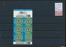 LN98738 Belgium 2012 airmail butterflies insects booklet MNH fv 9,55 EUR