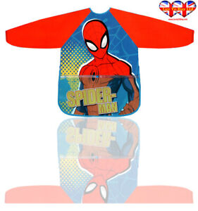 Children Apron,Spiderman Apron For Girl's & Boys Official Licensed(2-6 Year)
