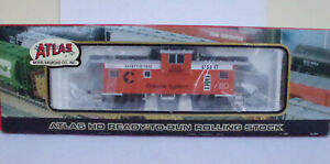 Atlas 1929 Extended Vision Caboose Chessie Safety System HO Model