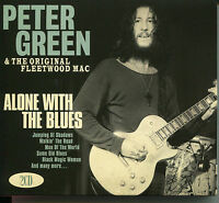PETER GREEN & THE ORIGINAL FLEETWOOD MAC ALONE WITH THE BLUES - 2 CD BOX SET