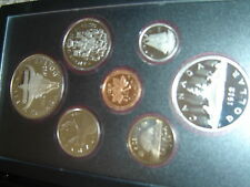 1982 Canada Proof Double Dollar Set (7 Coins Cent to Silver Dollar Mint Set)