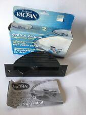 Central Vacuum  VACPAN Original Sweep Inlet Valve BLACK Unused With Box