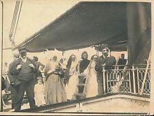 A Bord de l'Atlantique 1903 - Navire Paquebot - bb60
