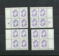 Alice Paul Suffragist  #2943 Mint NH USA 1995  MATCHED Set  Plate Blocks