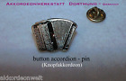 1 Pin / Anstecker - Akkordeon, accordion, acordeon, accordeon - in GOLD Farbe