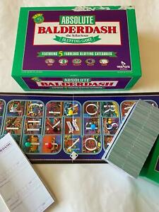 Absolute Balderdash - The Hilarious Bluffing Game - 1993 - 100% complete