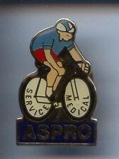 RARE PINS PIN'S .. VELO CYCLISME CYCLING TOUR DE FRANCE MEDICAL ASPRO BLEU ~BY
