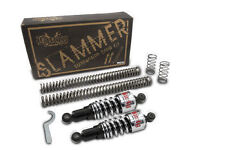 Burly Chrome Slammer Suspension Drop Kit for Harley Davidson Dyna (1991-2005)