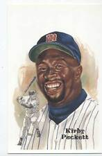 #251 KIRBY PUCKETT unsigned Perez Steele Post Card - Tough Card!!