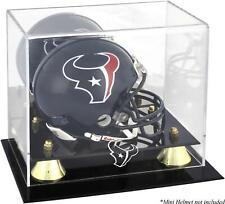 Houston Texans Golden Classic Mini Helmet Display Case - Fanatics