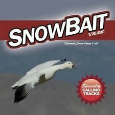 SNOW BAIT ELECTRONIC SNOW GOOSE CALL CD