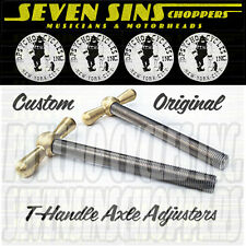 Seven Sins Choppers Psycho Cycles Rear Axle Adjusters Harley-Davidson Motorcycle