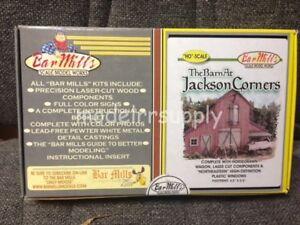 BAR MILLS 502 HO Barn at Jackson Corners - Laser Kit  MODELRRSUPPLY   $5 coupon